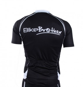 bikebrother team t-shirt bagside