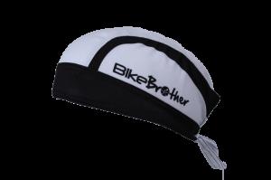 Bikebrother bandana hvid