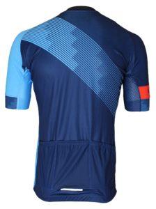 BikeBrother blue jersey bagside
