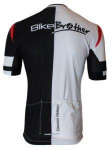 BikeBrother danish design jersey bagside