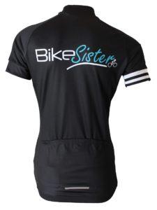 BikeSister Team jersey women bagside