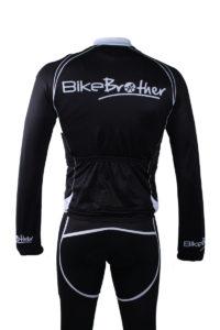 BikeBrother Team trøje med lange ærmer bagside