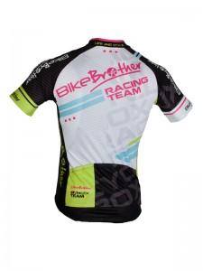 BikeBrother Racing team sort/grøn bagside