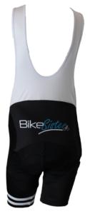BikeSister Team shorts med seler women bagside